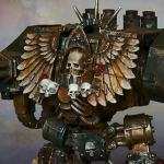 Dark Angels Chaplain Dreadnought [Forge World]