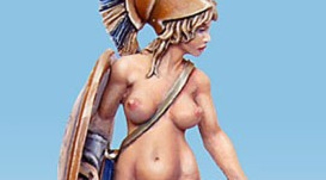 Artemis – how I painted the miniature