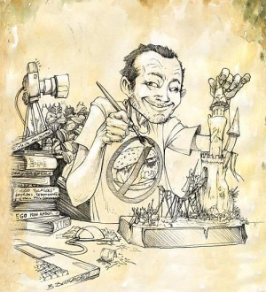 Jeremie Bonamant Teboul - caricature
