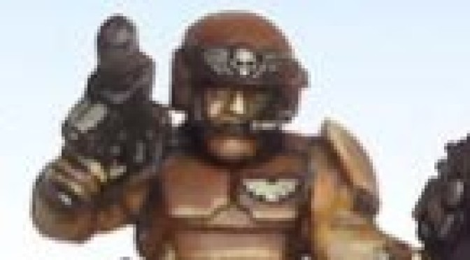Brown armour for Imperial Guard – Demi_morgana's method