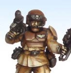 Brown armour painting tutorial - results