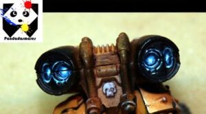 Photo: How to paint OSL on jump pack - Tutorial