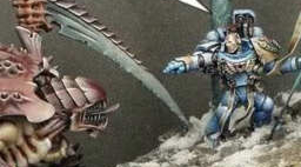 Between the Lines - miniature painting humour