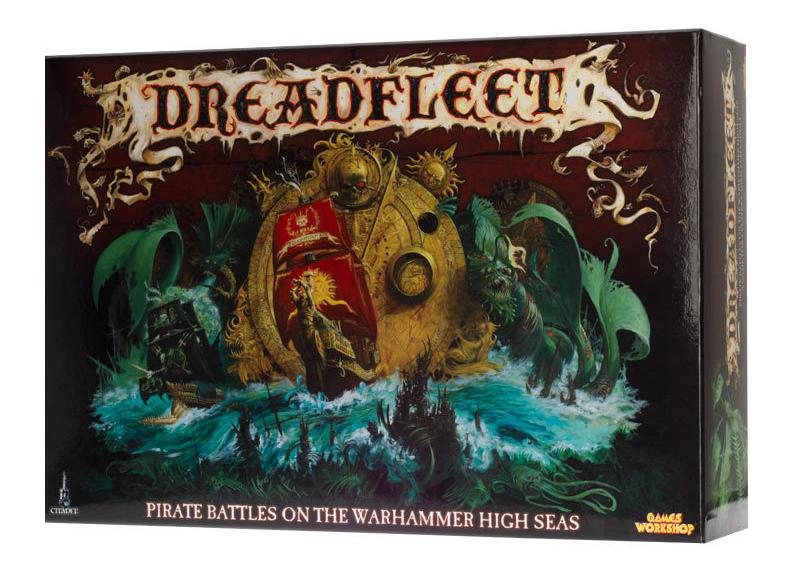 Настольная игра Dreadfleet от компании Games Workshop, настільна гра, boardgame