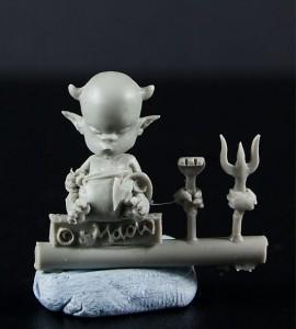 Photo: Hell Baby from Maow Miniatures - review