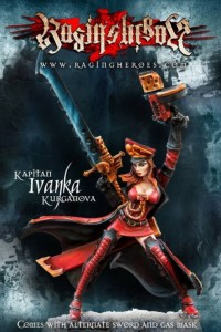 Photo: Ivanka Kurganova from Raging Heroes - Review