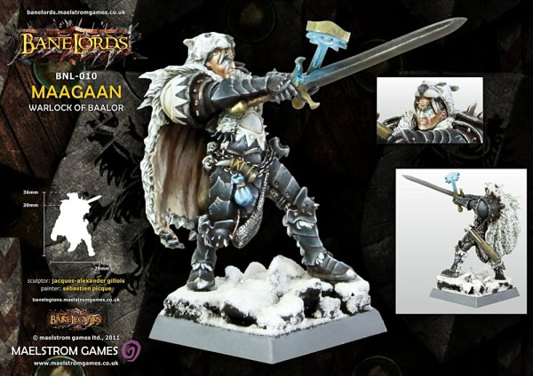 Photo: Maagaan from Bane Legion - review