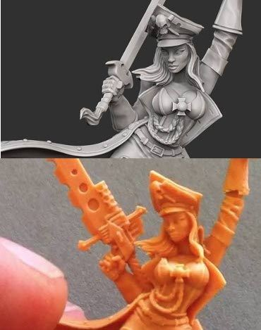 Photo: Digital sculpting vs. traditional sculpting