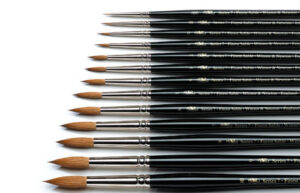 Brushes review: Winsor & Newton series 7 vs Rosemary & Co. (1)