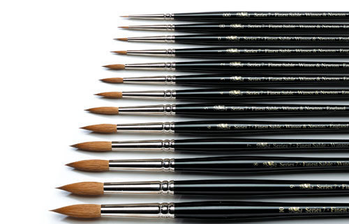 painters brushes brushes review winsor newton series 7 vs rosemary chest of colors