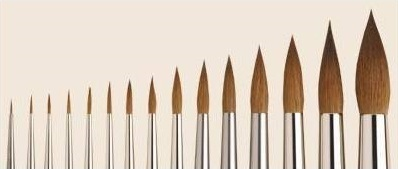 Brushes review: Winsor Newton series 7 vs Rosemary and Co