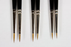 Brushes review: Winsor & Newton series 7 vs Rosemary & Co. (4)