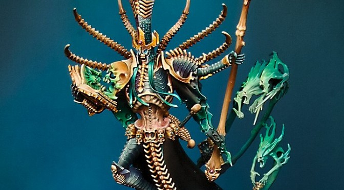 Nagash, Supreme Lord of Undead – by Benathai