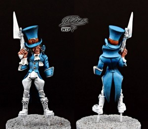 Malifaux: Seamus the Mad Hatter - tutorial (4)
