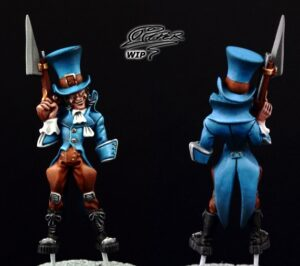 Malifaux: Seamus the Mad Hatter - tutorial (5)