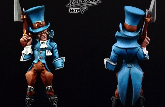 Painting Malifaux Seamus the Mad Hatter – Tutorial