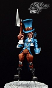 Malifaux: Seamus the Mad Hatter - tutorial (6)