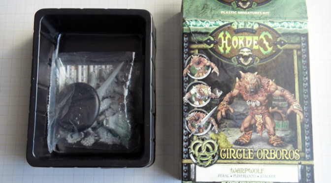 Privateer Press plastic Warpwolf – Review