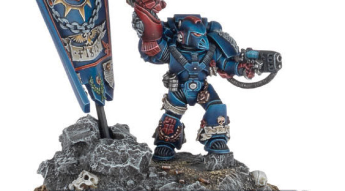 Warhammer 40.000 25th Anniversary Space Marine model – Review