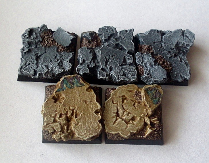 How to paint ruined temple bases painting tutorial.