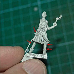Infamy Miniatures: Henrietta Jekyll review (18)