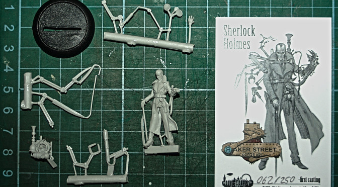 Infamy Miniatures: Sherlock Holmes and Henrietta Jekyll review