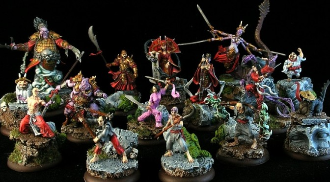 Painting Hell Dorado Immortals warband – Tutorial