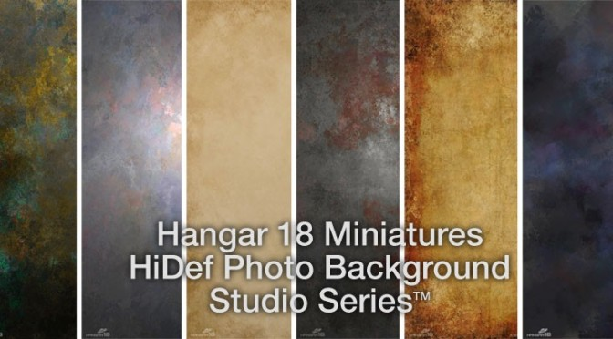 Hangar 18 Miniatures photo backgrounds – review