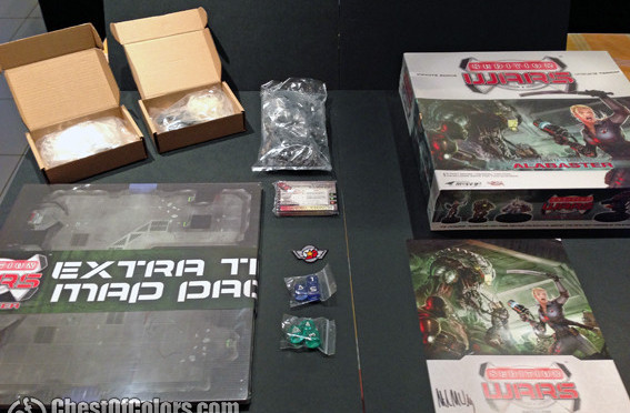 Unboxing Sedition Wars: Battle for Alabaster – review