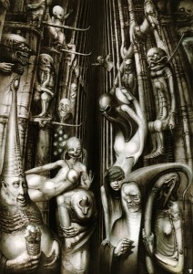 HR Giger: A. Crowley the Beast 666