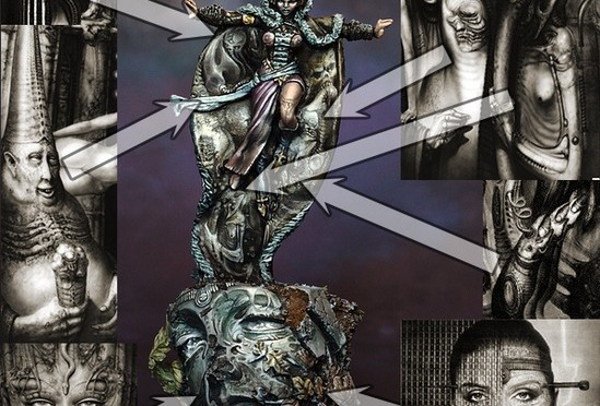 How to paint Rasputina – tutorial