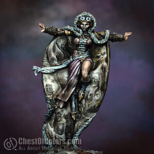 How to paint Rasputina the Ice Witch (Alternative) - tutorial