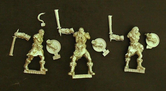 A quick view at The Howling Horde starter from Norsgard Miniatures