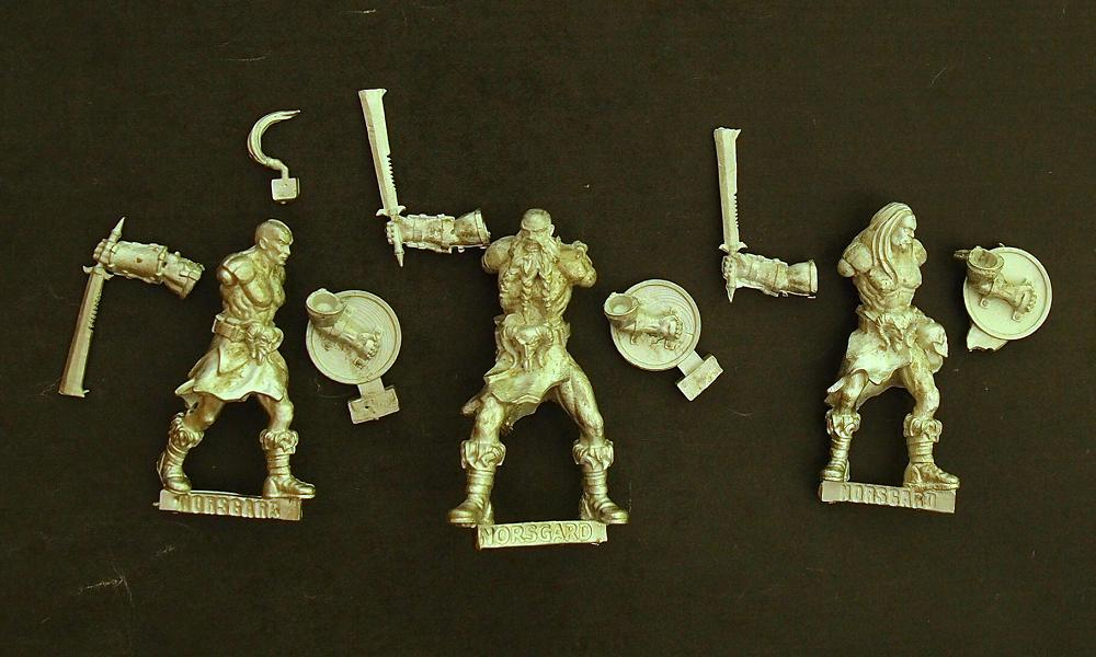 Norsgard Miniatures - Howling Horde starter set review