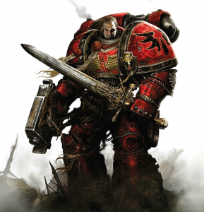 Blood Angels Space Marine