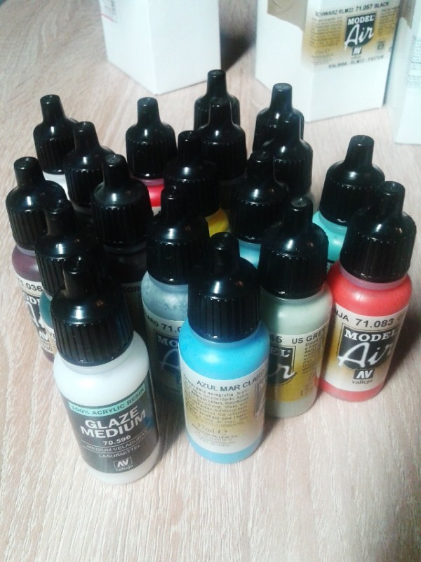 New paints