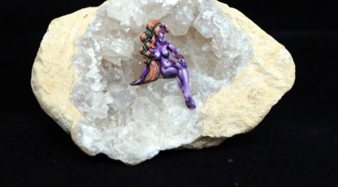 Purple nymph