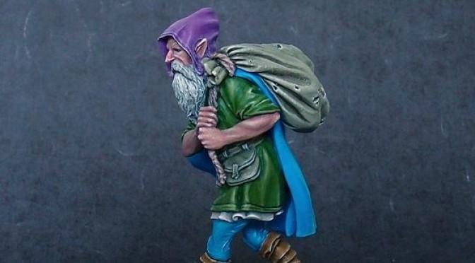 Funny little dwarf