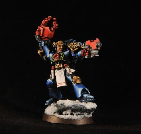 Captain Cortez, Games Workshop Warhammer 40000