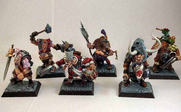 Cadwallon Mercenary Ogres, Rackham Confrontation