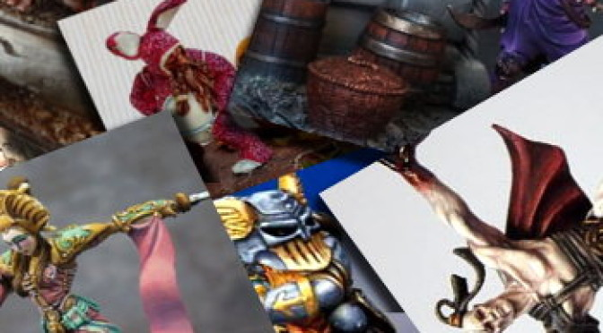 Miniature of the month: April 2012