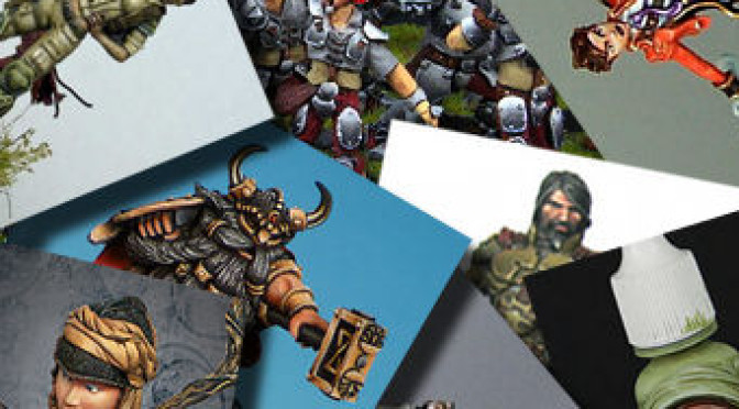 Miniature of the month: June 2012
