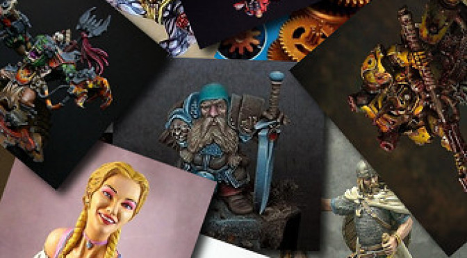 Miniature of the month: December 2012