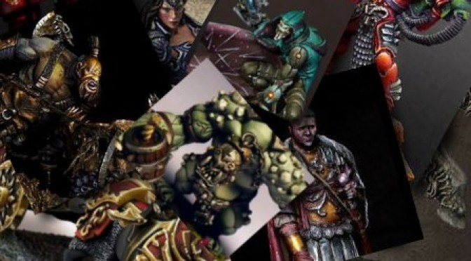 Miniature of the month: February 2012