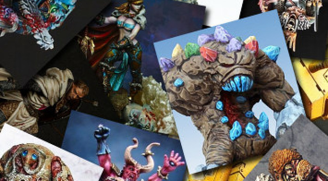 Miniature of the month: October 2012