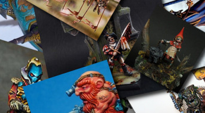 Miniature of the month: January 2013