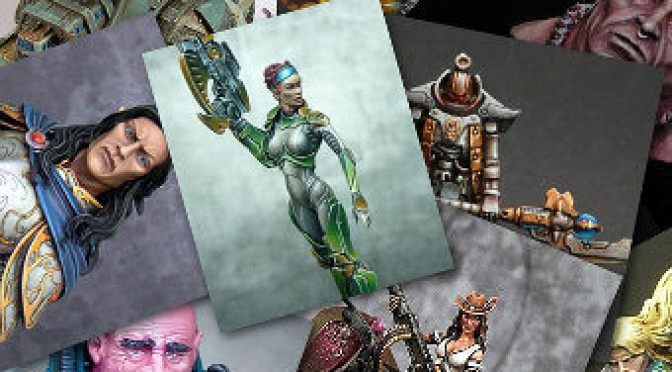 Miniature of the month: March 2013