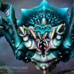 Arachnork spider (detail)