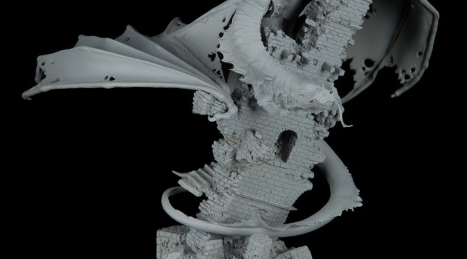 Gorthang the Swamp Master - dragon from Karol Rudyk Art