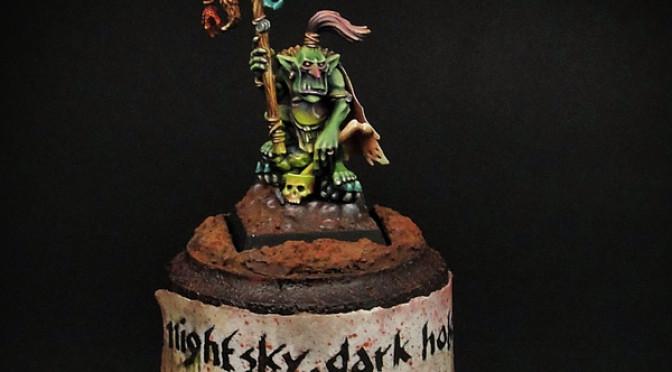 Goblin Shaman – by Benathai